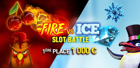 Ice x Fire : La nouvelle  Slot Battle commence sur le casino777
