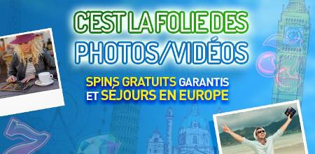 Gagnez un voyage et des free spins grâce au Concours Photo/Vidéo du Casino 777