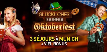 Tournoi Glückliches Oktoberfest: Trois séjours à Munich à  gagner!