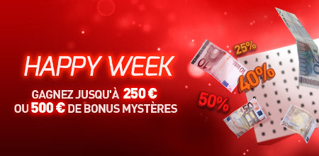 Happy Week avec le casino777