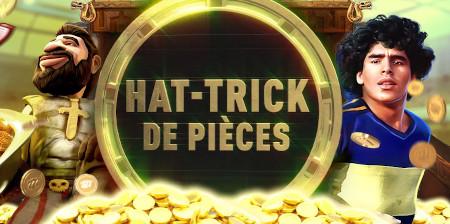 Hat Trick de Pièces: Triplez vos pièces Premium  pendant le week-end avec le casino777