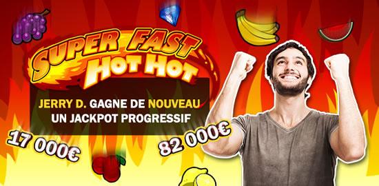 Jerry D. cumule 99.000 € de gain sur Casino777 avec 2 jackpots