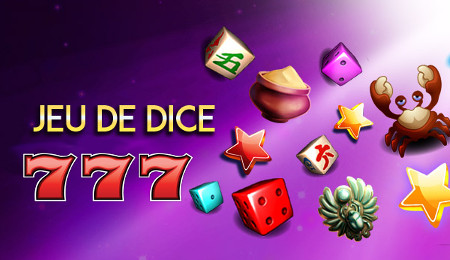 Les jeux de Dice disponible sur Casino777.be