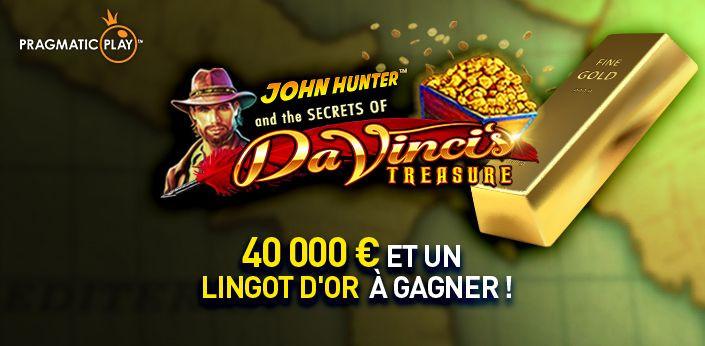 Comment gagner un lingot d'or et 40.000 € au Casino777 ?