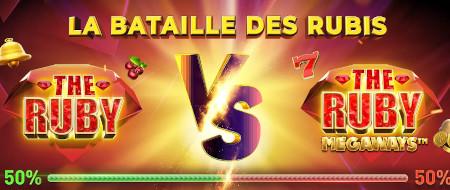 La bataille des Rubis au casino777