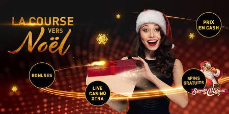 La course vers Noël commence sur le casino777 avec plein de cadeaux à la  clé
