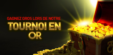 Le tournoi en or du casino777