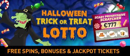 Des prix exceptionnels à gagner avec la loterie Trick or Treat