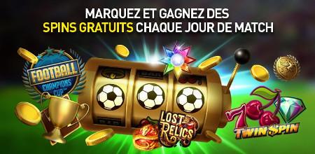 Gagnez des parties gratuites sur le casino777 pendant la Coupe du Monde