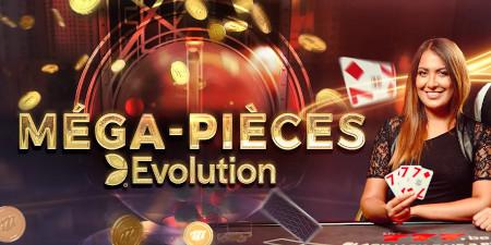 Méga-Pièces Evolution: Un extra de pièces à gagner sur le casino777
