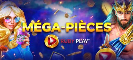 Méga-pièces RubyPlay: Triplez vos pièces Premium sur le casino777