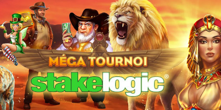 Méga Tournoi Stakelogic du  casino777 : Toujours plus de prix à gagner