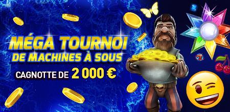 Plus de 2.000 euros à se partager avec le Mega Tournoi du casino777