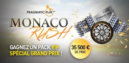 Gagnez un séjour VIP à Monaco pendant le Grand Prix au Casino777