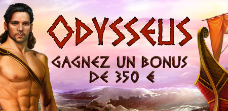 350 euros de bonus à gagner avec le quizz Odysseus