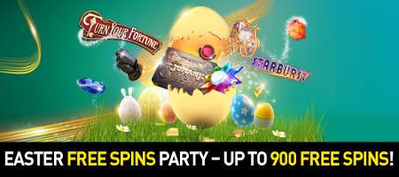 Avalanche de free spins pour Pâques avec le casino777