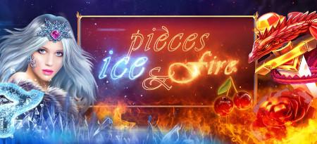 Pièces Ice & Fire: 200 % de pièces Premium  en plus sur le casino777