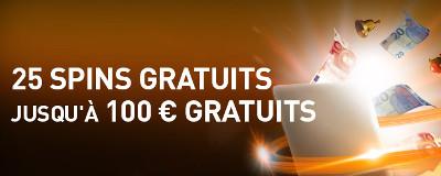 Bonus de bienvenue Casino777 : 25 spins gratuits et 100 euros sans dépôt