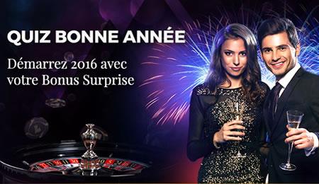 150 € de bonus pour la nouvelle année 2016 sur Casino777