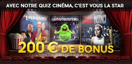 200 euros de bonus à gagner sur le casino777