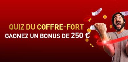 Ouvrez le coffre-fort du Casino 777 et gagnez 250 euros