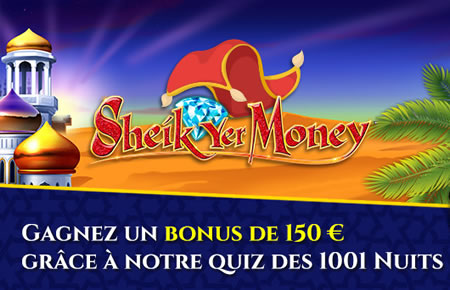 Sheik yer Money sur Casino777