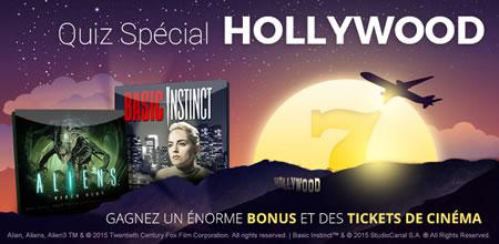 Profitez d'un bonus de 33% et des tickets de cinéma sur  casino777.be