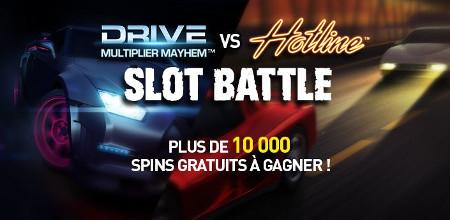 La Slot Battle revient avec plus de 10.000 spins à gagner