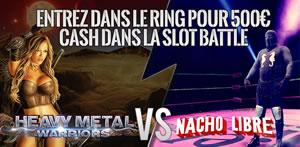 Slot Battle Heavy Metal Warriors Vs Nacho Libre