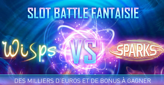 Slot Battle Wisps vs Sparks