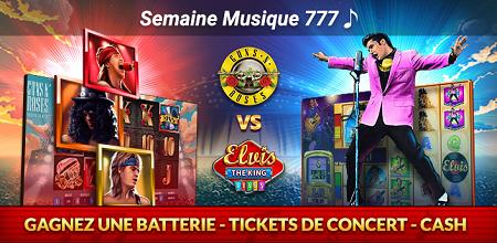 La Slot Battle revient en version Musicale avec des tickets et du cash