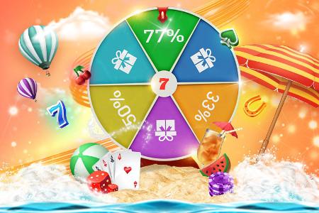 Les soldes pré-été commencent sur le casino777