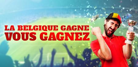 Suède x Belgique: Gagnez 25 euros de bonus si la Belgique gagne