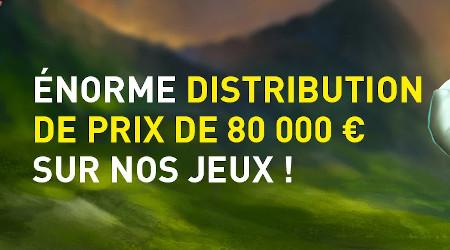 Prize Drop de l'été: 80.000 euros à gagner  sur le casino777