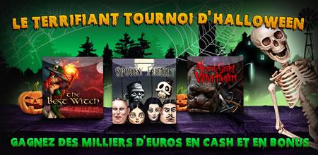 Un tournoi et un bonus exclusif pour Halloween sur casino777.be