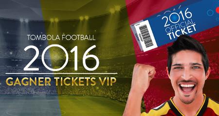 Casino777 : Tombola Football, des packs pour Belgique x Suède