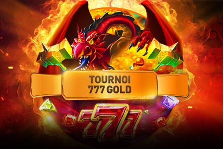 1.500 euros à gagner lors du tournoi 777 Gold
