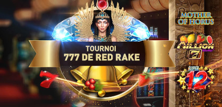 Tournoi Red Rake du Casino777