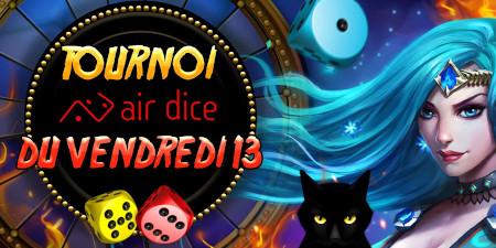 Tournoi du Vendredi 13: 6.500 euros à se  partager sur le casino777