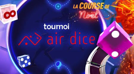 Faites le plein de e-cartes cadeaux avec le tournoi Air Dice du casino777