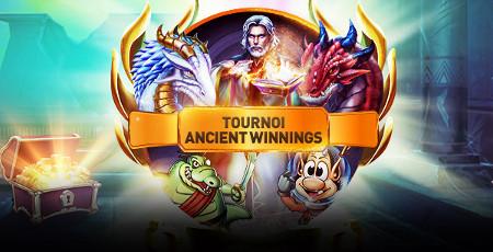 Tournoi Ancient Winnings : 1.500 euros à gagner avec le tournoi Play'n'Go