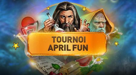 2.000 euros en jeu lors du tournoi April Fun au Casino777