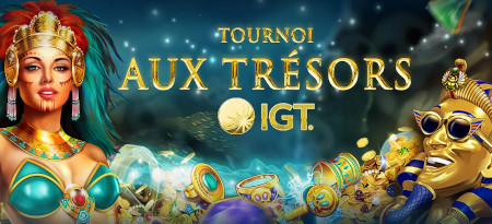 Tournoi aux trésors IGT: Plus de 3500  euros cash à gagner sur le casino777