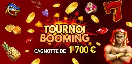 1.700 euros à se partager avec le tournoi Booming
