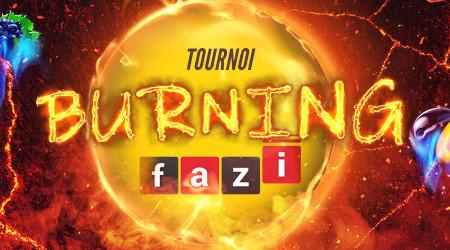 Tournoi Burning Fazi du casino777