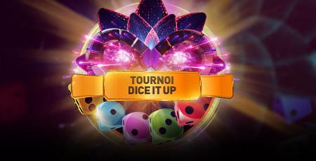 2.000 euros à gagner avec le tournoi Dice It Up