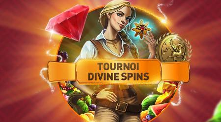 1.500 euros à gagner lors du tournoi Divine Spins