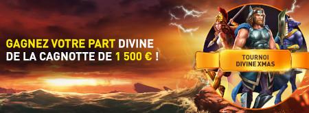 50 prix en cash à gagner avec le tournoi Divine Xmas