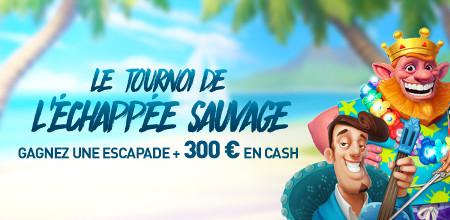 Une escapade et du cash à gagner au tournoi de l'Échappée sauvage au Casino777