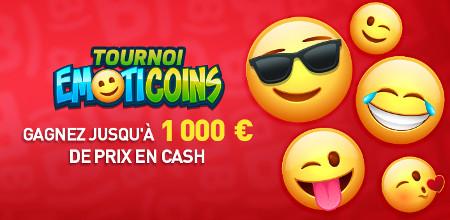 Tournoi EmotiCoins du Casino777 : 1.000 € en cash à gagner